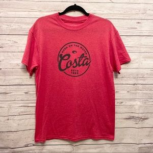 Costa | red graphic tee